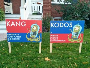 Did You Vote For Kang or Kodos?