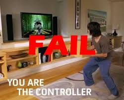When You Fail to Kinect