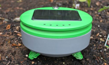 Meet the garden Roomba.