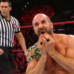 An Update on Cesaro after his teeth nailed the turnbuckle last night at No Mercy
