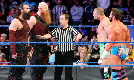 Bludgeon Brothers vs Hype bro' s Smackdown 11/28/17