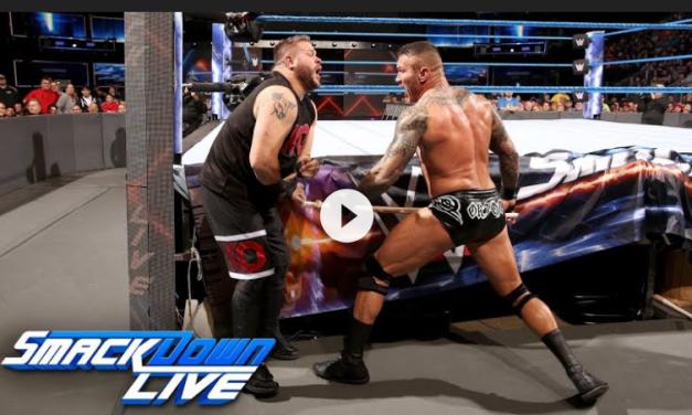 Randy Orton vs Kevin Owens Smackdown 11/28/17