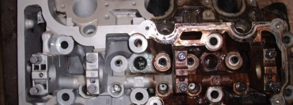 How To Clean A Dirty Engine Block
